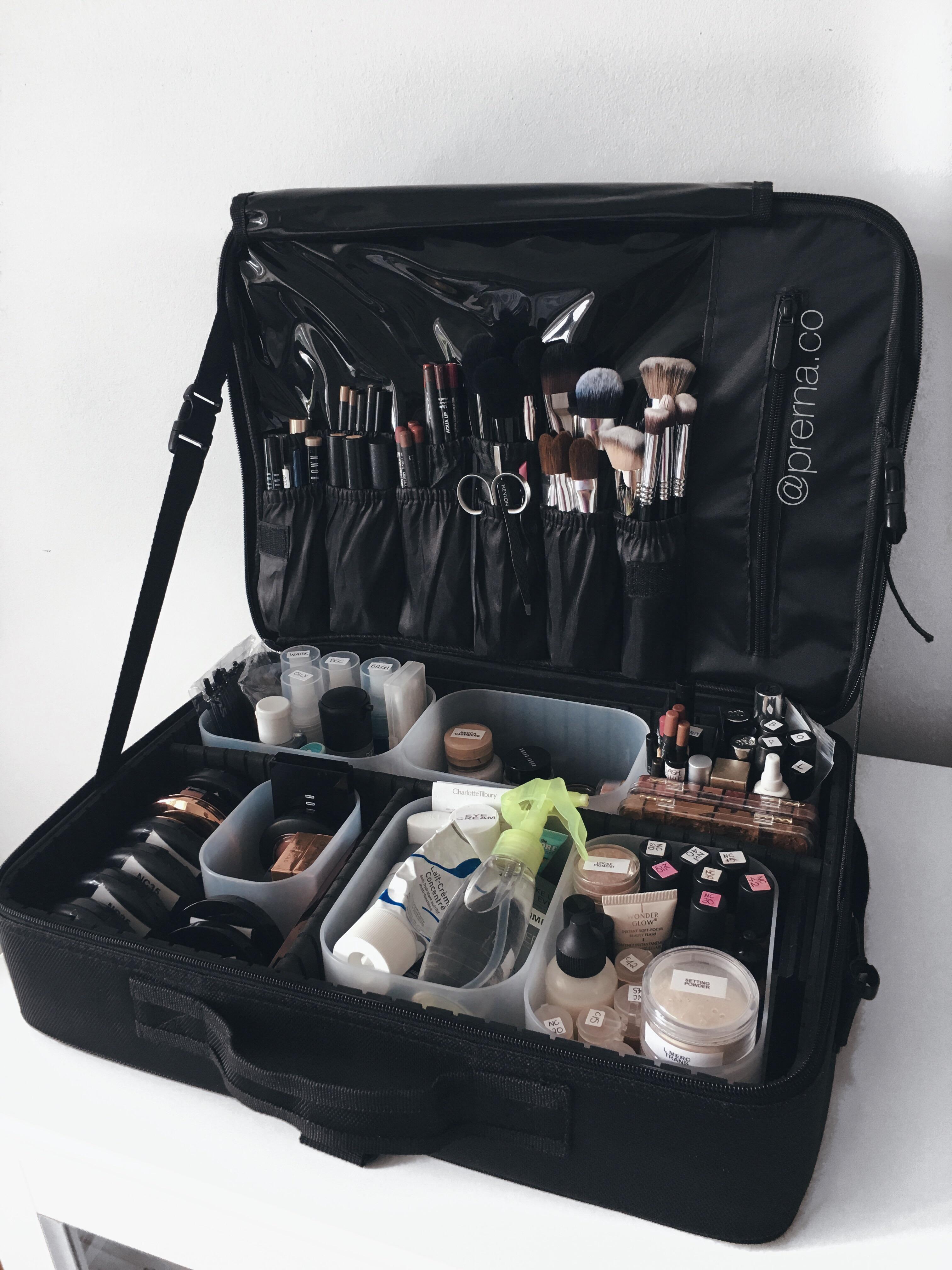 Professional Makeup Kit Downsizing